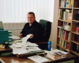 Frank Festa im Büro