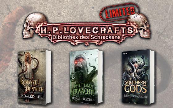 H. P. Lovecrafts Bibliothek des Schreckens - Limited
