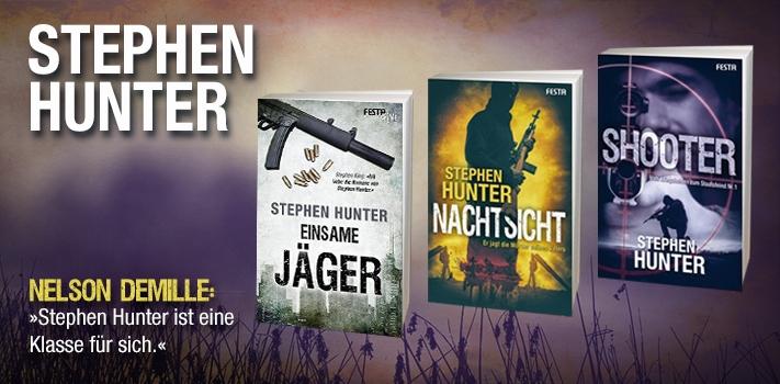 Stephen Hunter - Einer der besten Thriller-Autoren der Welt.