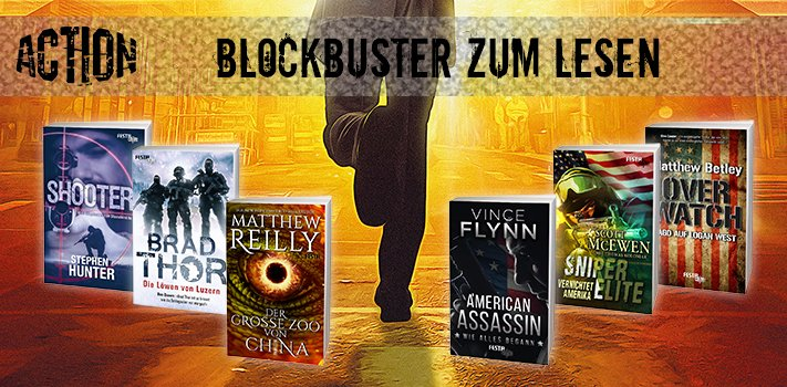 Festa Action - Blockbuster zum Lesen