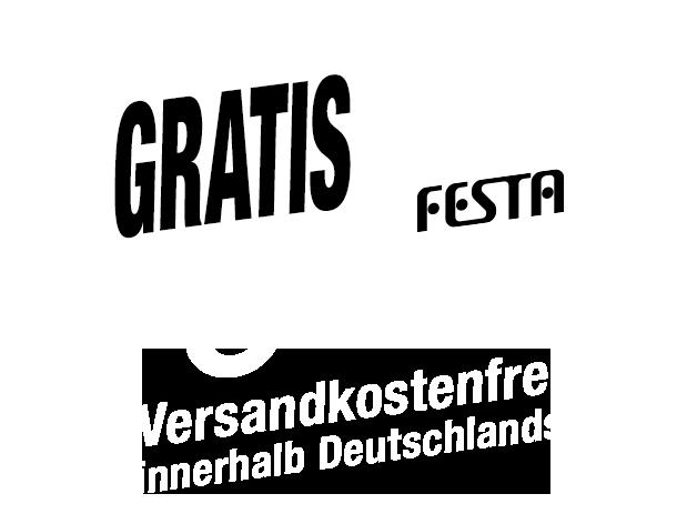 Kostenloser Versand innerhalb Deutschlands.